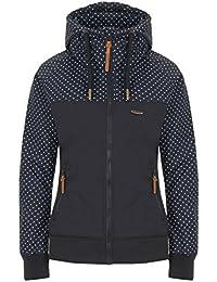 f8f5c78856ee7b alife & kickin Damen Jacke Malia Jacket Übergangsjacke Windbreaker Kapuze 2  Color Design Block vegan hergestellt