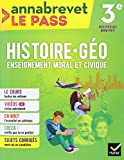 Histoire-géographie EMC 3e brevet 2018