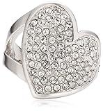 Guess Damen-Ring Metall Zirkonia weiß Gr.56 (17.8) UBR11401-56