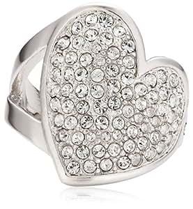 Guess Damen-Ring Metall Zirkonia weiß Gr.54 (17.2) UBR11401-54