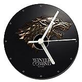 MasTazas Juego De Tronos Game of Thrones Stark Reloj CD Clock 12cm