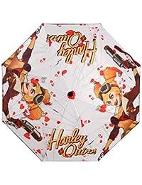 Oficial suicidio Escuadrón Harley Quinn Bombshell plegable paraguas - tebeos de la C.C.