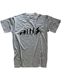 Shirtzshop T-shirt Standard Edition Motocrosser Motocross Evolution