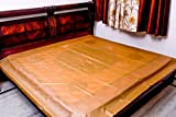 #10: Sharma Clothing-Baby Waterproof Plastic Sheet- Double Bed/Baby-Adult Waterproof Mattress Protector by Sharma Clothing (Golden Brown)