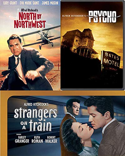 Motel Vacancy at The Bates Movie Psycho & Legend Cary Grant North By Northwest Alfred Hitchcock TCM / Strangers on A Train Film DVD Classic Triple Feature Movie Collection