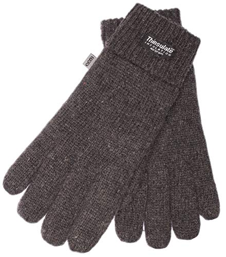 Guantes punto hombre forro Thinsulate EEM Gris anthra