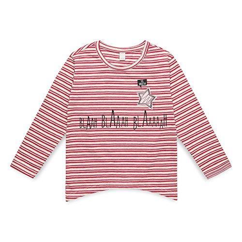 ESPRIT KIDS Mädchen RM1008307 T-Shirt, Weiß (Heather Cream 114), Herstellergröße: 104+ -