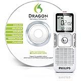 Philips Voice Tracer grabadora digital - Dictáfono (HQ, LP, SLP, SP, USB, LCD, Memoria interna, 38 x 16,4 x 105 mm, AAA)