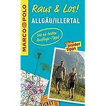 MARCO POLO Raus & Los! Allgäu, Illertal: Guide und große Erlebnis-Karte in praktischer Schutzhülle