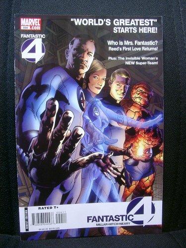 Fantastic Four #554A