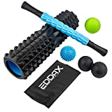 Massage Ball Foam Roller Kit – 5 in 1 Deep Tissue Physical Therapy