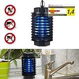 Gardigo UV Vuelo insectos destructor 50 m² lámpara mosquito lámpara trampa del mosquito del insecto Isokat Júnior insecto asesino