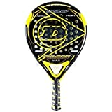 Dunlop Pulsar Sport Max Padel Racquet, Black/Yellow, One Size