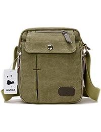 Los nuevos bolsos de hombres de la vendimia de la lona multifunción Viajes Satchel / Mensajero bolso pequeño