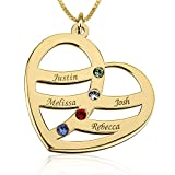 #4: Showoff Personalized Brass Necklace Handcurved with ur Own Name (Gold,S174)