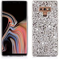 Nadoli Glitzer Hülle für Galaxy Note 9,Silber Weich Bling Slim Fit Tasche Handyhülle Skin Bumper für Samsung Galaxy... preisvergleich bei billige-tabletten.eu