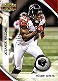 2010Panini Poêle Gear Football Carte # 8Roddy Blanc-Atlanta Falcons-NFL Trading Card