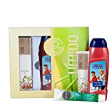 UMIDO Beautyset Fuß-Creme 45 ml Latschenkiefer, Duschgel 250 ml Acitv & Hand-Lotion 45 ml Mandelöl...