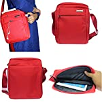 This is a 10in carrying bag that allows you to carry and protect a wide range of devices such as a Laptop, tablet, e-reader, mp3 player, and cell phone all in 1 bag. Its stylish design and durability make this bag the perfect travel companion. This b...