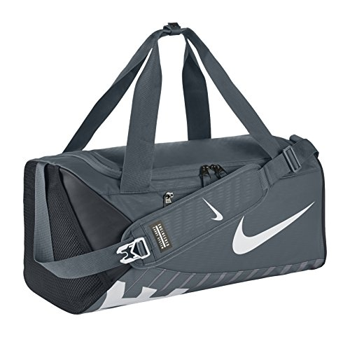 Nike Unisex Sporttasche Alpha Adapt Crossbody, flint grey/black/white, 53.5 x 28 x 25.5 cm, 33 Liter, BA5183-064 (Mädchen Crossbody-tasche)