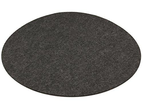 Filz Tischset aus echter Merinowolle 35 cm rund