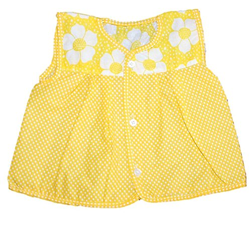 Cotton summer frock - Front Open, set of 3