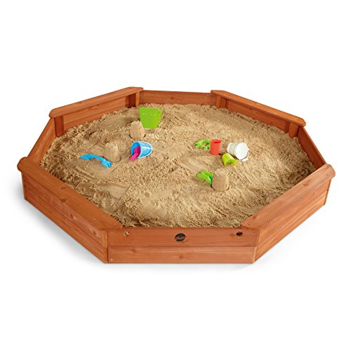Preisvergleich Produktbild Plum Kinder gigantischer Sandkasten achteckig mit 4 Sitzbänken, 25058