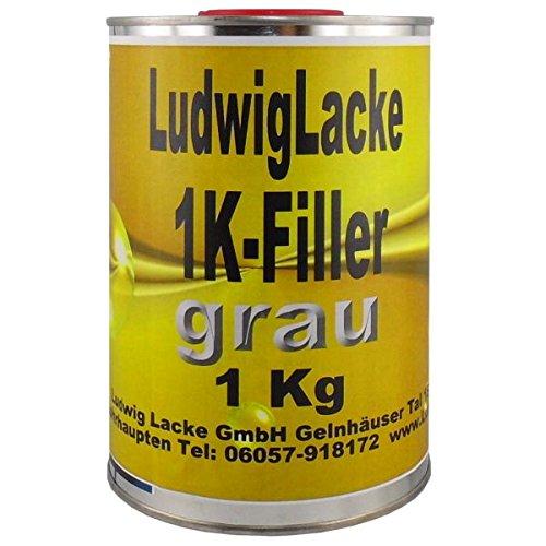 Preisvergleich Produktbild 1K Füller Grau 1 kg Grundierfüller