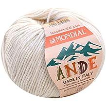 Lane Mondial lana Poto Color 732lana natural de 100% Alpaca Superfine, lana de alpaca para tejer &