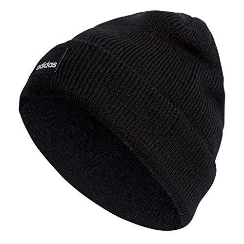 adidas Erwachsene Beanie Mütze Black, OSFM