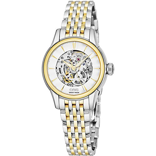 Oris Women's Artelier 31mm Steel Case Automatic Watch 01 560 7687 4351-MB