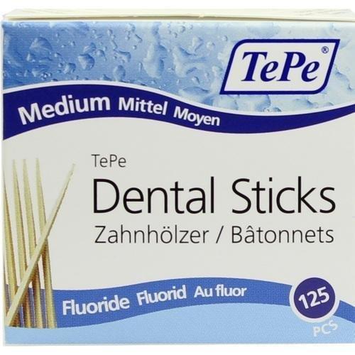 TePe Dental Sticks Linden Medium fluoridebox W/Hänger