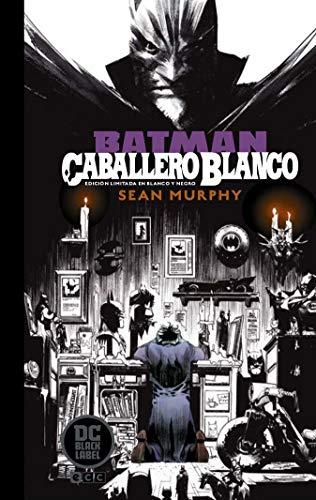 b1c4714ab0 Batman  Caballero Blanco - Edición limitada DC Black Label en b n