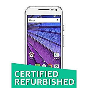 (Certified REFURBISHED) Motorola Moto G Turbo Edition XT1557 (White, 16GB)