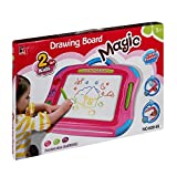 #8: Dlittles Easy to Hold Magic MultiColor Drawing Board 2 in 1 Sketch Pad Writing Painting Craft Art