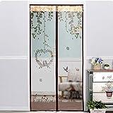 Magnetische Anti-Moskito-Vorhang Verschlüsselung mute Schlafzimmer Anti-Moskito weichen Tür Installation ist einfach (Farbe : C, größe : 90*210cm)