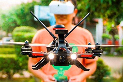 Walkera 15004600 - Runner 250 Pro Racing-Quadrocopter RTF - FPV-Drohne mit HD Kamera, GPS, OSD, Akku, Ladegerät und Devo 7 Fernsteuerung - 6