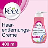 Veet Sensitive Enthaarungscreme, 400 ml