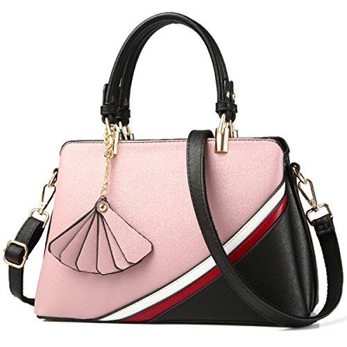 Fabelhaft Kampf-Farben-Art- Und Weiseschulter-Beutel-große Kapazitäts-Damen-Handtasche Pink