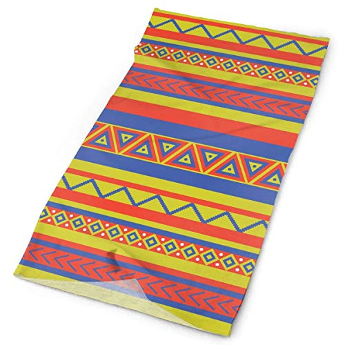 Wfispiy Geometrical Ethnic Aztec Print Headwrap Men Women Headwear Headband Neck Scarf Polyester Do Rag Cap Magic Head Scarf Bandana Fashion Headdress Face Mask Neck Gaiter - Usmc Headwrap