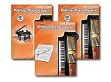 ALFRED 'S PREMIER Piano Course Serie Level 4–Drei Book Set–Beinhaltet Lesson, Theorie, und Leistung Bücher