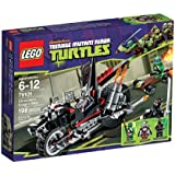 Lego Teenage Mutant Ninja Turtles - 79101 - Jeu de Construction - La Moto Dragon de Shredder