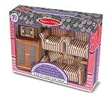 Melissa & Doug - Dollhouse Furniture - Puppenhaus Möbel