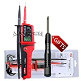 NKTECH TL-1 Screwdriver UNI-T UT15C LCD AC/DC Voltage Display Auto Range IP65 Waterproof Type Multifunctional Tester Detector Single Pole Detection Continuity Phase Rotation Test 12-690V