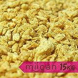 miigan Pea Protex Hack – 15 kg Big Bag | Vegan Protein pflanzliche Eiweißquelle | 70g Protein | ohne Zusatzstoffe kohlenhydratarm | low-fat | glutenfrei | KEIN Proteinshake