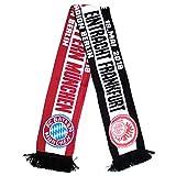 Eintracht Frankfurt vs. FC Bayern München Pokalfinale Schal, Begegnungsschal 2018 - Plus gratis Lesezeichen Wir lieben Fußball
