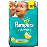 Pampers Baby Dry Size 5+ Junior Plus 13-27kg (48) by Pampers