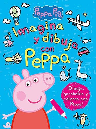 Imagina y dibuja con Peppa (Peppa Pig. Actividades) por Varios autores