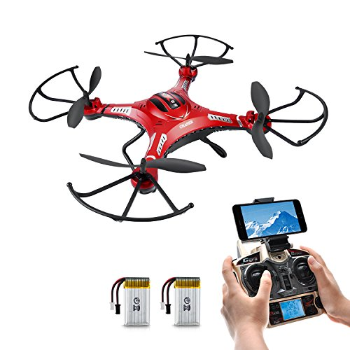 RC Quadrocopter Potensic F183 WIFI FPV Drohne mit 2MP HD Kamera