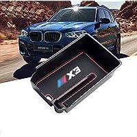 RUIYA Caja de apoyabrazos de la consola central Personalizado para 2018 BMW X3 G01,Organizador